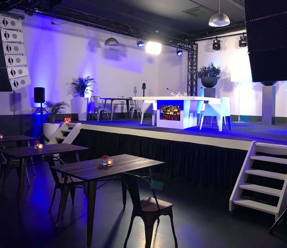 presentatie bedrijfsevenement ds party eventcenter